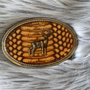 """The Beaver Buckle Co. Belt plaque for 1.5"""" strap"""